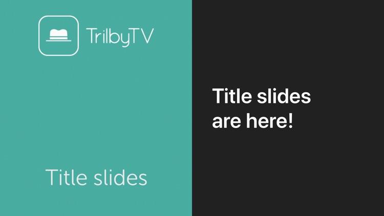TrilbyTV Player screenshot-3
