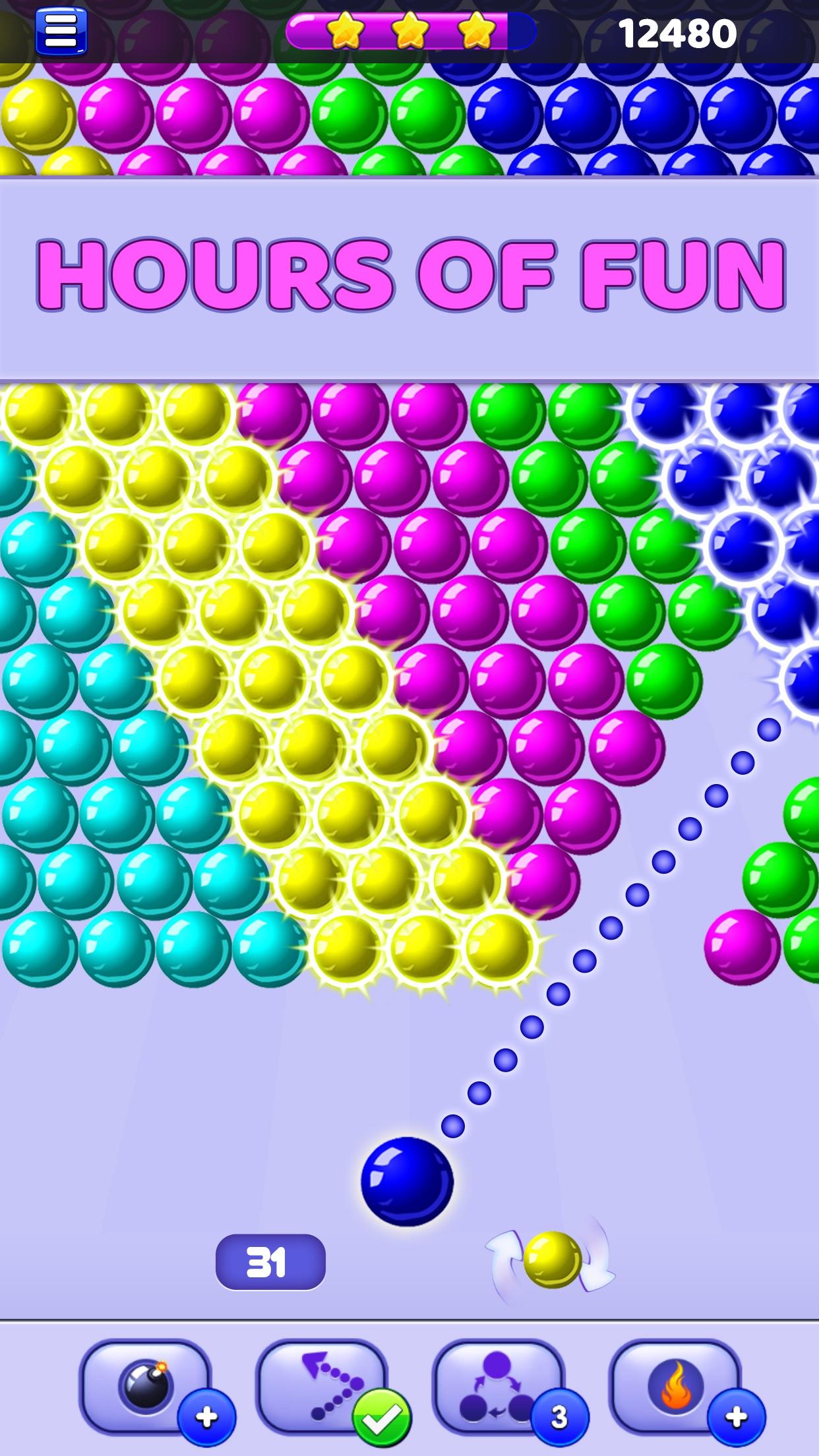 Bubble Shooter - Pop Bubbles Screenshot