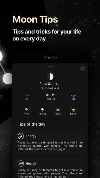 Moon Calendar and Moon Phases screenshot three