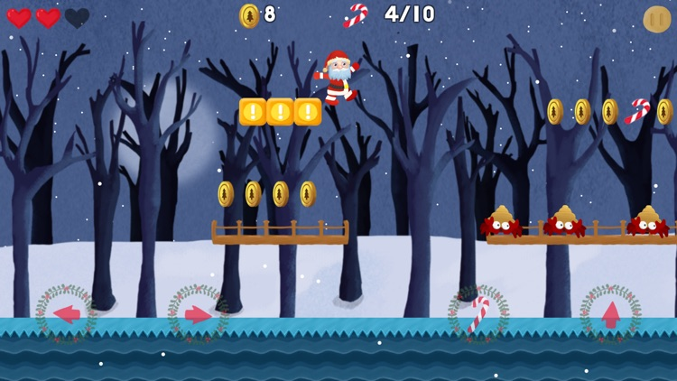 Lost Presents - Santa Jump Run screenshot-3