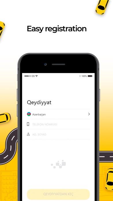 Screenshot for 189 TAXI in Azerbaijan App Store