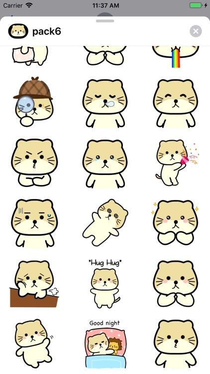 Singa Polah Stickers Pack 6