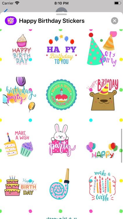 Happy Birthday Animated * screenshot-3