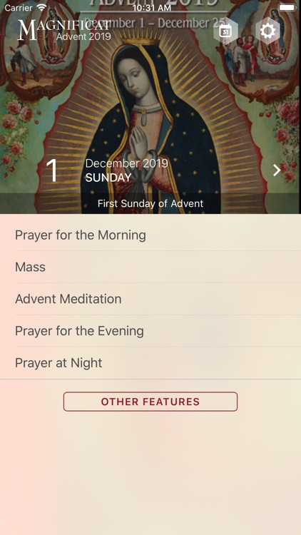 Advent Magnificat 2019 screenshot-0