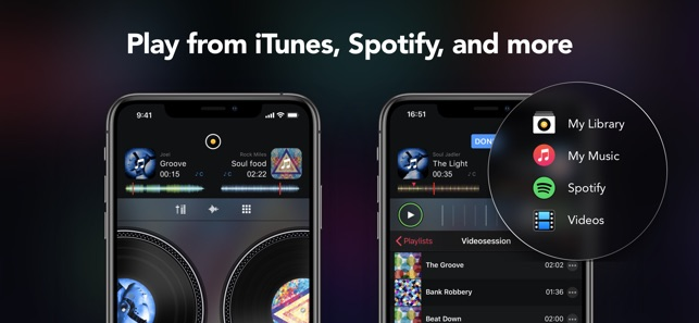 djay - DJ App & Mixer on the App Store