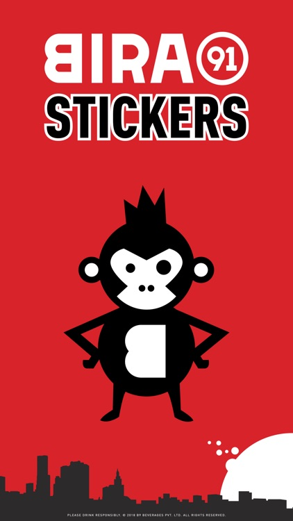 Bira91 Stickers