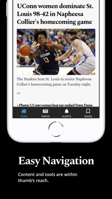 Hartford Courant Screenshot