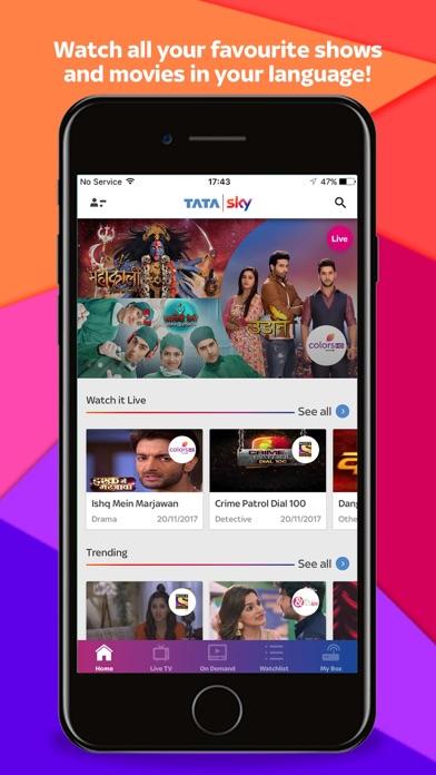 download Tata Sky - Live TV & Recharge