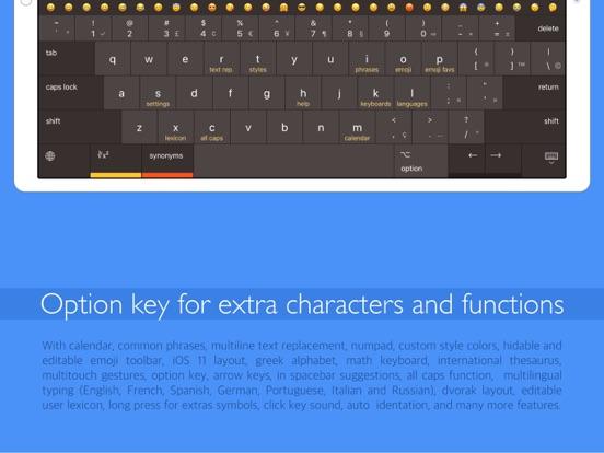 Pc Keyboard w/ swipe gestures Screenshots