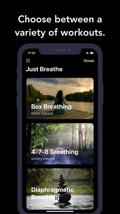 Just Breathe. screenshot #2