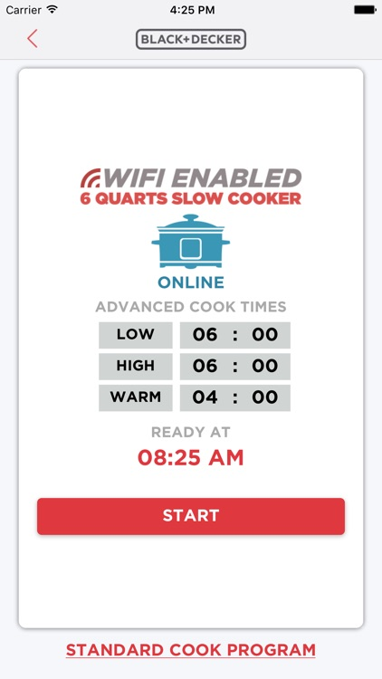Wi-Fi Slow Cooker