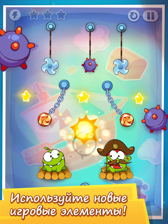 Скачать Cut the Rope: Time Travel GOLD