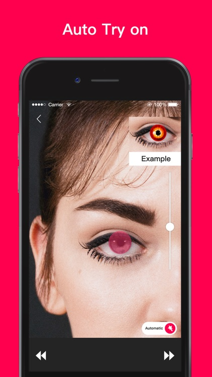 Magic Eye Color-Face Makeup screenshot-9
