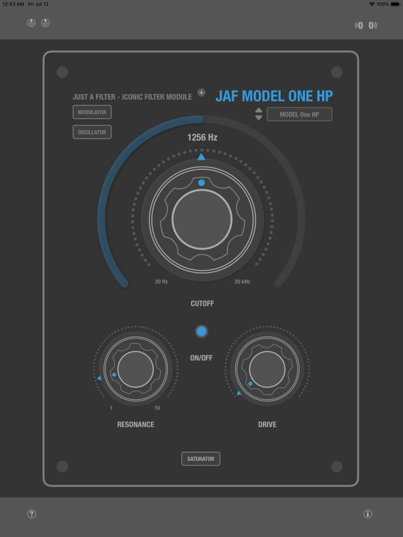 Audio Unit (AU) Equalizer, Filter Apps for iOS (36)