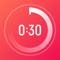 App Icon for HIIT-Timer App in Denmark App Store