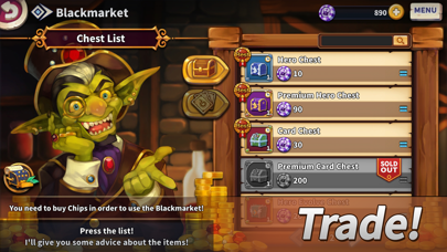 WITH HEROES - IDLE RPG screenshot 5