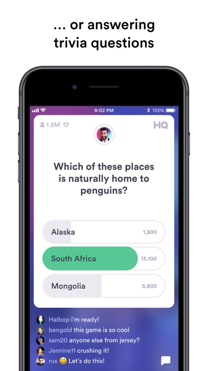 HQ - Trivia & Words screenshot-3