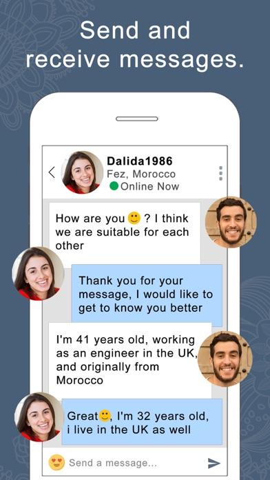 Screenshot for buzzArab Arab & Muslim Dating in Jordan App Store
