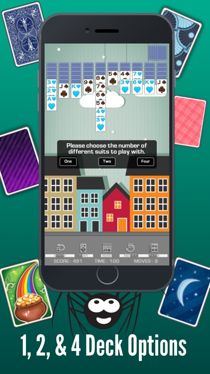Spider Solitaire Classic ◆ screenshot-2