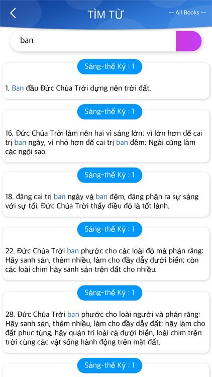 Vietnamese Bible Offline screenshot-4