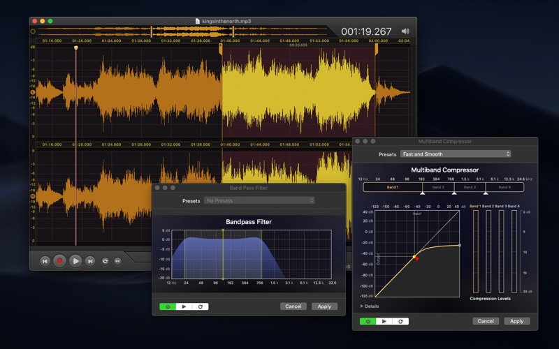 Vector 3 - Record & Edit Audio Screenshot 2