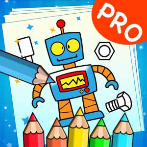 Robot Drawing Book PRO - Games app