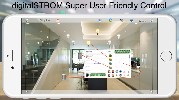 HOS Smart Home digitalSTROM screenshot-8