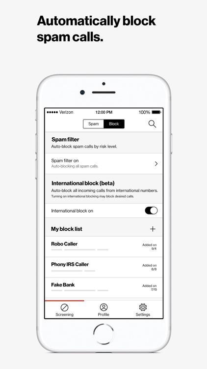 Verizon Call Filter screenshot-4