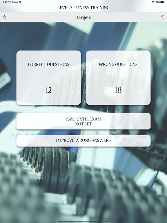 Level 3 Fitness Training Test screenshot 13