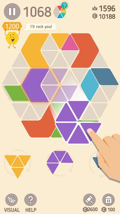 Make Hexa Puzzle på PC