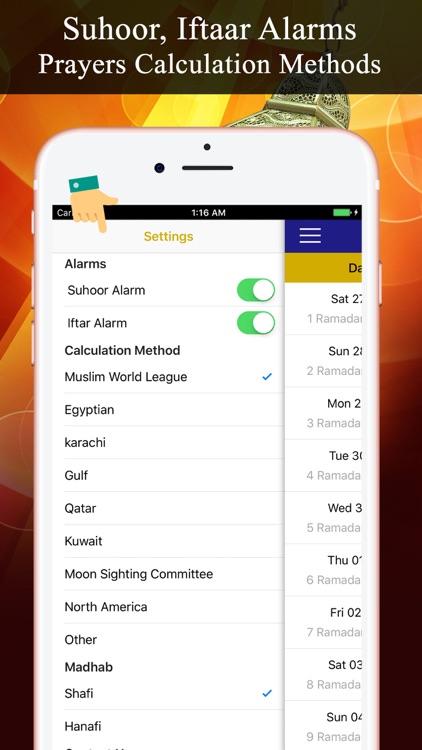 Ramadan Calendar PRO رمضان screenshot-4