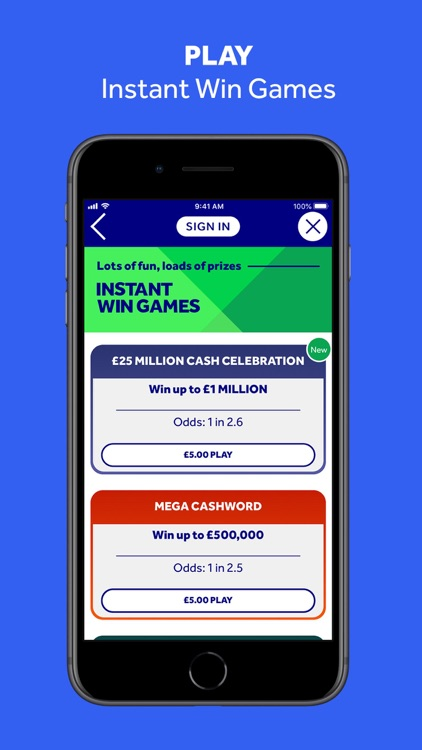 The National Lottery: Official screenshot-6