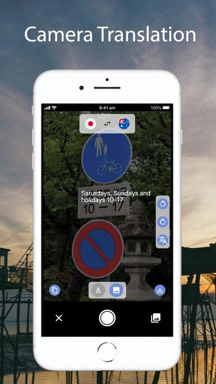 Text, Voice & Camera Translate