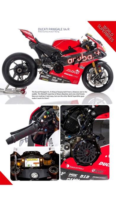 Motorcycle Racer Magazine screenshot 2