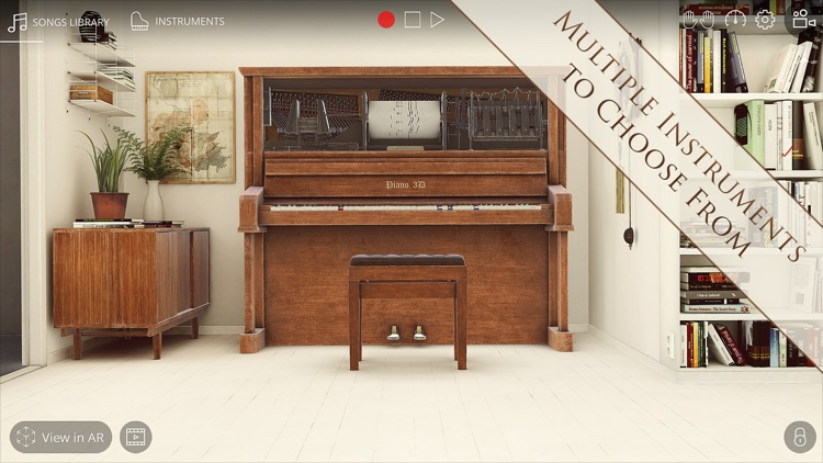 Piano 3D - Real AR Piano App screenshot-3