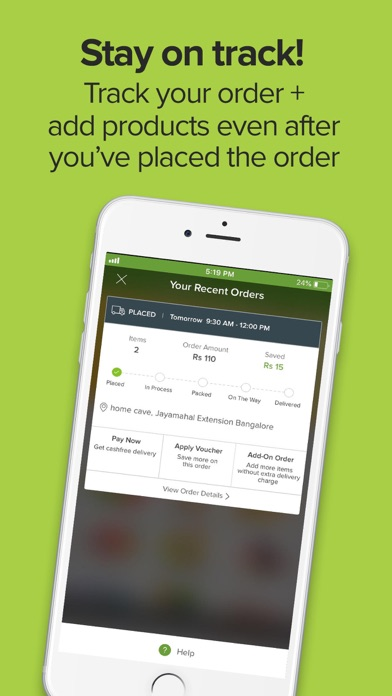 Screenshot for bigbasket - Grocery Delivery in India App Store