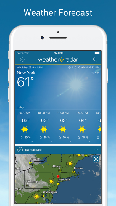 Screenshot for Weather & Radar in United States App Store