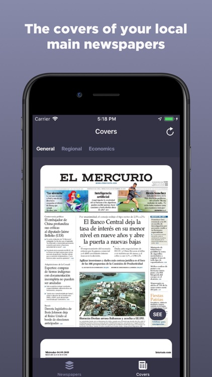 Chilean Newspapers screenshot-3