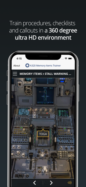 A320 Memory Items Trainer on the App Store