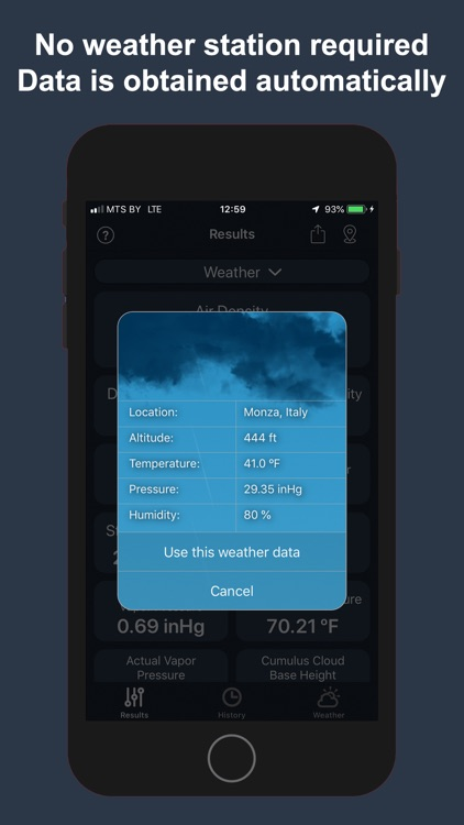 Air Density & Altitude: AirLab screenshot-3