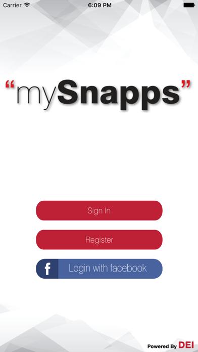 mySnapps screenshot one