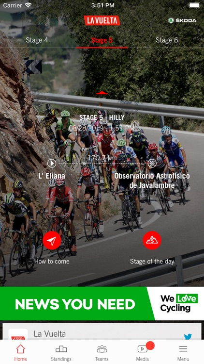 La Vuelta19 presented by ŠKODA
