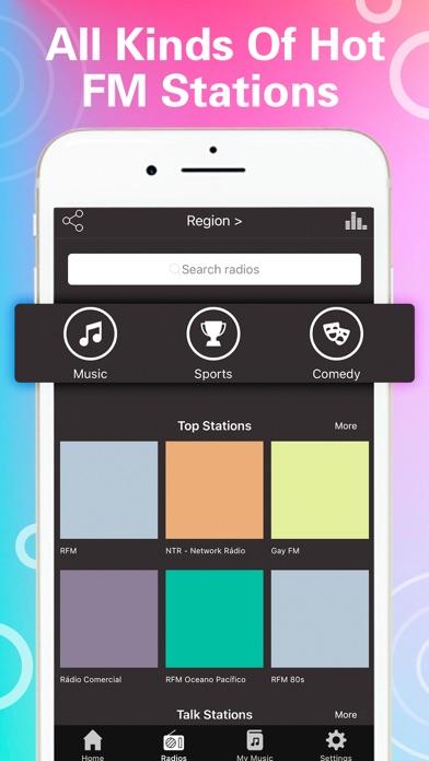 Tuner Radio Pro Video Player screenshot two