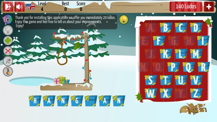 Christmas Hangman Deluxe screenshot-2