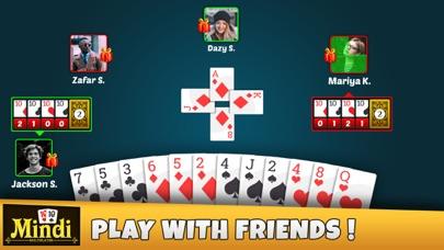 Mindi Multiplayer – Card Game Screenshot