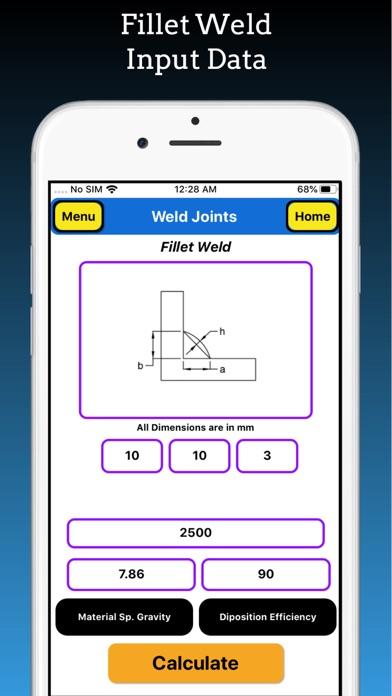 Welding Weight Calculator screenshot 10