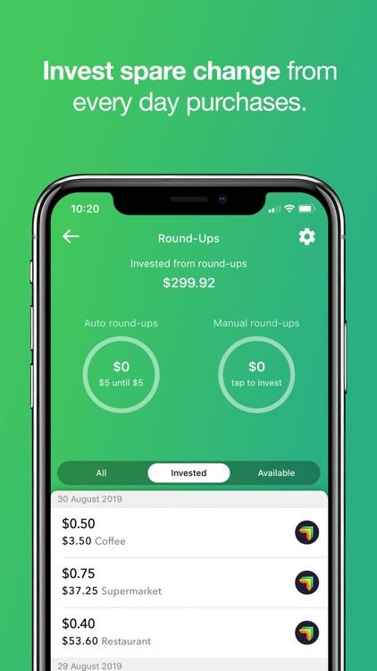 Raiz - Invest The Spare Change