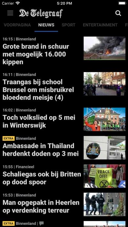 De Telegraaf nieuws screenshot-5