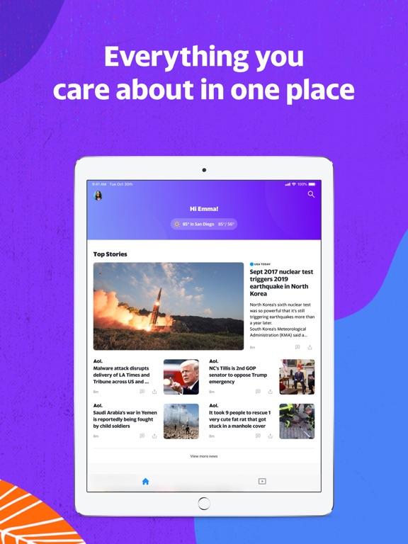 Yahoo - News, Mail, Sports screenshot 6