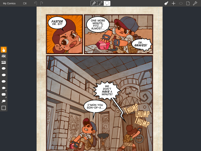 Comic Draw by plasq on the App Store